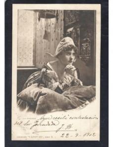 Tarjeta postal ilustrada España escena costumbrista España - 1900 a 1930.