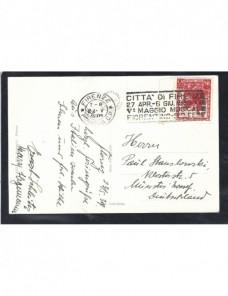 Tarjeta postal ilustrada Italia Florencia Otros Europa - 1931 a 1950.