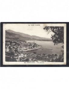 Tarjeta postal ilustrada Mónaco Otros Europa - 1931 a 1950.