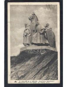Tarjeta postal ilustrada Francia Las Ardenas Francia - 1931 a 1950.