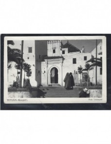 Tarjeta postal ilustrada España Ceuta España - 1931 a 1950.