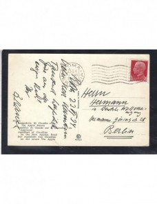 Tarjeta postal ilustrada Italia acueducto romano Otros Europa - 1931 a 1950.