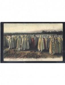 Tarjeta postal ilustrada Túnez escena popular Otros Mundial - 1900 a 1930.