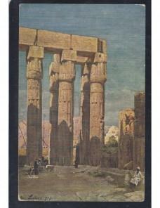 Tarjeta postal ilustrada Egipto Luxor Otros Mundial - 1900 a 1930.