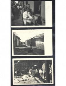Tres tarjetas postales ilustradas Perú escenas indígenas Otros Mundial - 1900 a 1930.