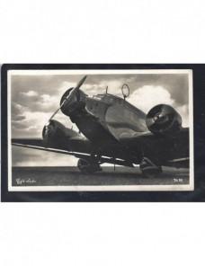 Tarjeta postal ilustrada Alemania avión Junkers 52 Alemania - 1931 a 1950.