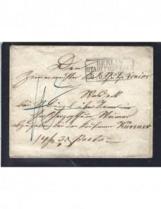 Prefilatelia carta Alemania Berlín redireccionada Alemania - Siglo XIX.