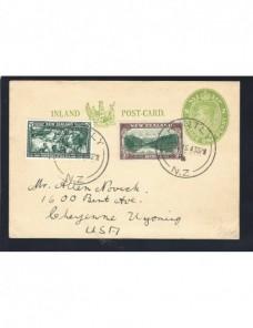 Tarjeta entero postal Nueva Zelanda Otros Mundial - 1931 a 1950.