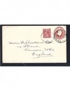 Sobre entero postal Nueva Zelanda  Otros Mundial - 1931 a 1950.