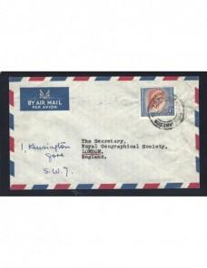 Carta aérea Rhodesia matasellos especial Colonias y posesiones - Desde 1950.