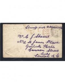 Carta militar inglesa Sudáfrica guerra Anglo Boer Colonias y posesiones - 1900 a 1930.