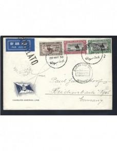 Carta aérea Sudán  Colonias y posesiones - 1931 a 1950.