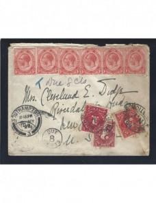 Carta Sudáfrica sellos de tasa Estados Unidos Colonias y posesiones - 1900 a 1930.