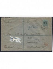 Carta certificada Togo censura militar I Guerra Mundial Bando Aliado - I Guerra Mundial.