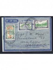 Aerograma Islas Cook Colonias y posesiones - Desde 1950.