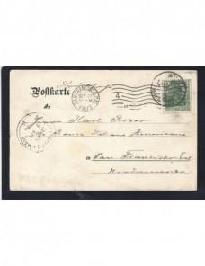 Tarjeta postal Alemania a Estados Unidos Alemania - 1900 a 1930.
