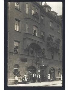 Tarjeta postal Alemania fotografía hotel Alemania - 1900 a 1930.