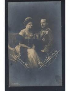 Tarjeta postal Alemania fotografía grandes duques de Hessen Alemania - 1900 a 1930.