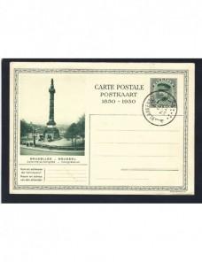 Lote temático. Tema monumentos. Tarjeta entero postal Bélgica Entero Postales.
