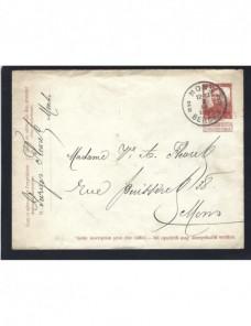 Sobre entero postal Bélgica  Otros Europa - 1900 a 1930.