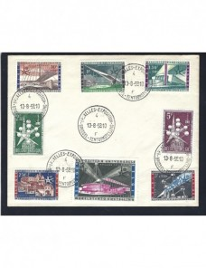 Sobre Bélgica recuerdo Exposición Universal Bruselas 1958 Otros Europa - Desde 1950.