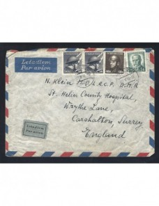Carta correo aéreo Checoslovaquia Otros Europa - 1931 a 1950.